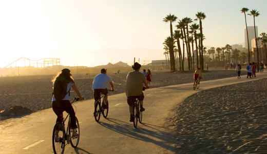#5SantaMonicabeach-bike-path
